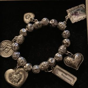 The Bill Gaithers Collection silver bracelet.